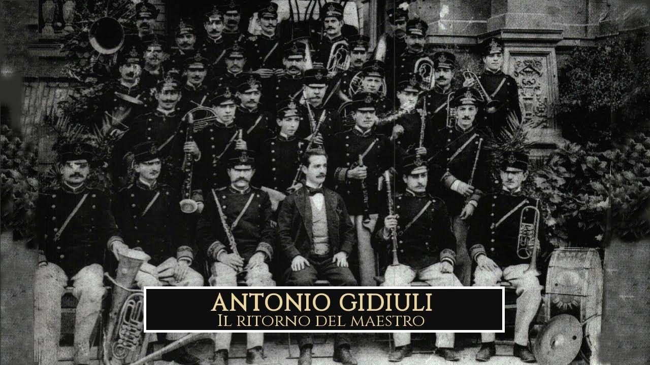Il ritorno del maestro... Antonio Gidiuli